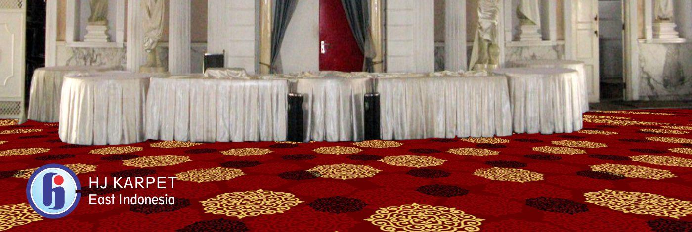 Karpet Ballroom Hotel Garden Palace Surabaya