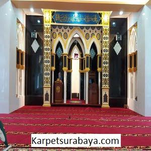 Jual Karpet Masjid Custom Masjid Ar Rohman Makassar