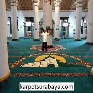 Jual Karpet Masjid Custom Masjid Agung Sumenep