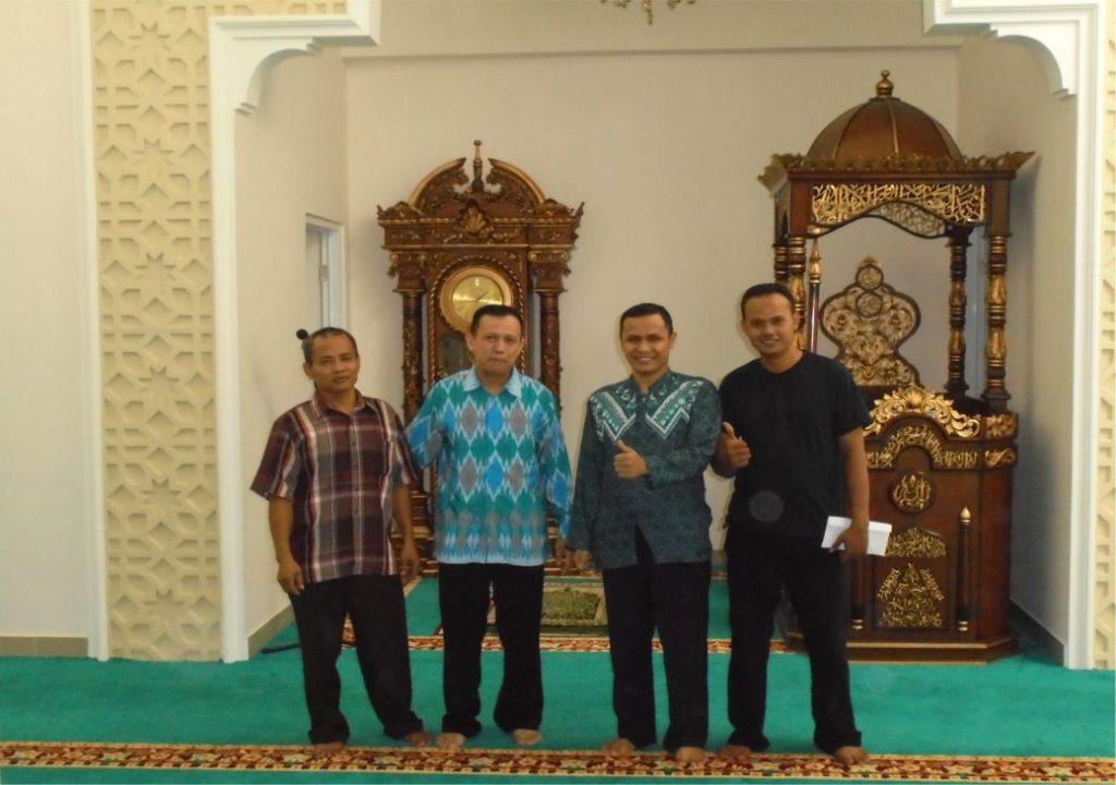 KARPET MASJID BAITUL ILMI SMAN 34 JAKARTA SELATAN  DKI JAKARTA