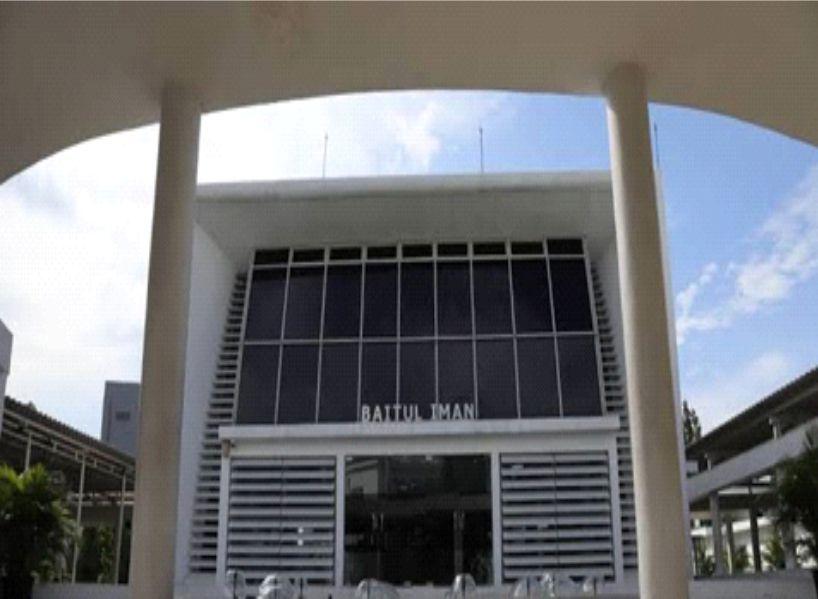KARPET MASJID BAITUL IMAN KOMPLEK MUSEUM BANK INDONESIA