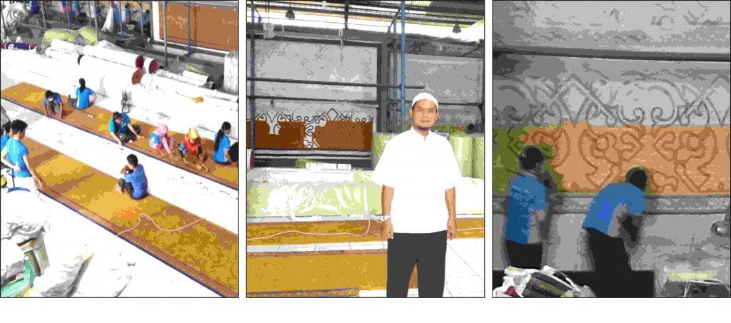 KARPET MASJID AN NUR PLAZA MANDIRI JAKARTA SELATAN DKI JAKARTA